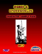 Ogres and Underworlds Character Sample Pack