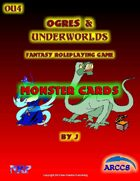 Ogres and Underworlds Monster Cards