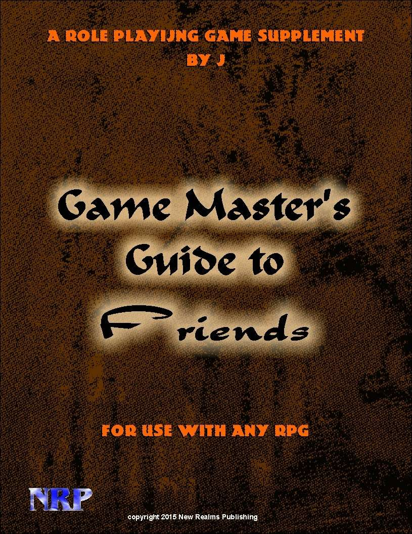 Game Master's Guide to Friends