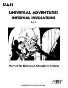 Universal Adventures Infernal Invocations
