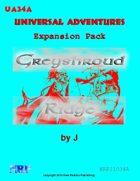 Universal Adventures Expansion Pack Greyshroud Ridge