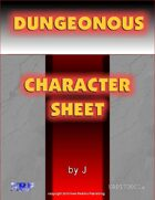 Dungeonous Character Sheet