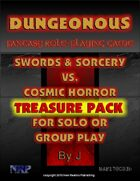 Dungeonous Treasure Pack