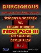 Dungeonous Event Pack III