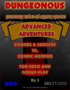 Dungeonous: Advanced Adventures