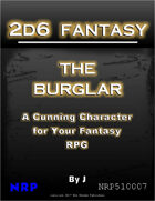 2d6 Fantasy: The Burglar