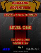 Dungeon Adventures: Level One