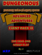 Dungeonous Event Pack IX