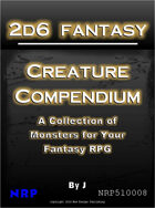2d6 Fantasy: Creature Compendium