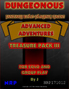 Dungeonous Treasure Pack III