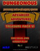 Dungeonous Treasure Pack VI