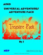 Universal Adventures AO6D Treasure Pack