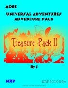 Universal Adventures AO6E Treasure Pack II