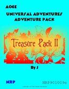 Universal Adventures AO6E Treasure Pack II