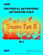 Universal Adventures AO6I Treasure Pack III