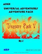 Universal Adventures AO6K Treasure Pack V