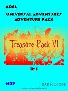 Universal Adventures AO6L Treasure Pack VI