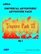 Universal Adventures AO6M Treasure Pack VII