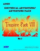 Universal Adventures AO6O Treasure Pack VIII