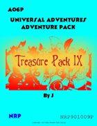 Universal Adventures AO6P Treasure Pack IX