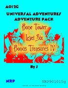 AO12G Bone Tower Bonus Treasures IV