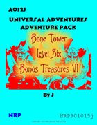 AO12J Bone Tower Bonus Treasures VI