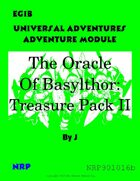 EG1B The Oracle of Basylthor Treasure Pack II