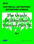 EG1C The Oracle of Basylthor Treasure Pack III