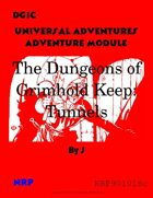 DG1C The Dungeons of Grimhold Keep: Tunnels