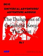 DG1G The Dungeons of Grimhold Keep: The Nest