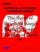 DG0E2The Ruins of Grimhold Keep, Wizard's Tower: Chamber of Earth
