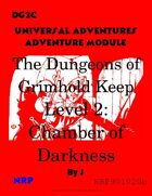 DG2c The Dungeons of Grimhold Keep, Level 2: Chamber of Darkness