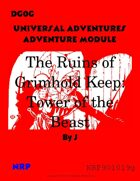 DG0G Universal Adventures Adventure Module The Ruins of Grimhold Keep: Tower of the Beast