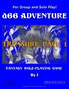d66 Adventure Treasure Pack I
