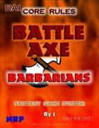 Battle Axe: Barbarians
