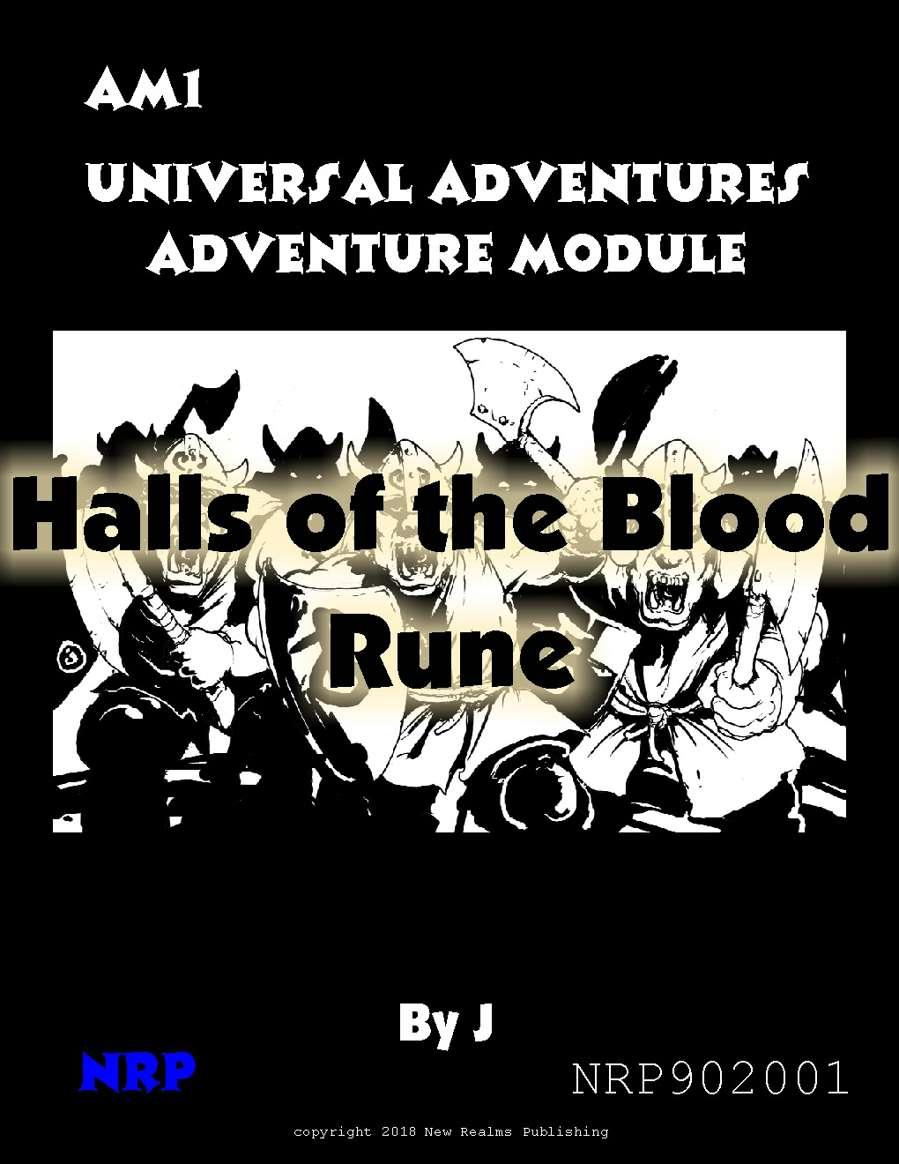 Universal Adventures Adventure Module AM1 Halls of the ...