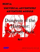 DG0F1A The Dungeon of the Hammer: Treasure Pack