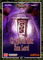 FGA01: Crypt of the Sun Lord for Fantasy Grounds II