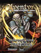 Underworld Races: Dweorg