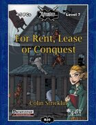 B20: For Rent, Lease, or Conquest
