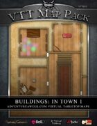 VTT MAP PACK: Buildings in Town 1