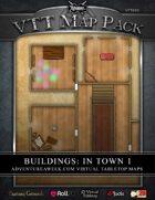 VTT MAP PACK: Buildings in Town 1