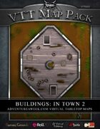 VTT MAP PACK: Buildings in Town 2