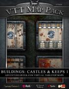 VTT MAP PACK: Castles & Keeps 1
