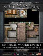 VTT MAP PACK: Building Wizard Tower 1