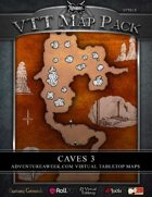 VTT MAP PACK: Caves 3