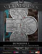VTT MAP PACK: Dungeons 1