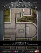 VTT MAP PACK: Dungeons 2
