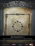 VTT MAP PACK: Dungeons 3