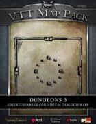VTT MAP PACK: Dungeons 3